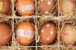 Thumbnail Easter eggs in a box