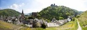 Thumbnail View over Bacharach in front of Burg Schadeck Castle, Mainz-Bingen district, Rhineland-Palatinate, Germany, Europe