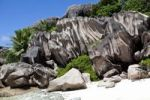 Thumbnail Lonely beach of Grand Anse, with the typical granite rocks of La Digue, La Digue Island, Seychelles, Indian Ocean, Africa