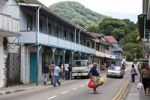 Thumbnail Shops on Independence Avenue, Victoria, Mahe Island, Seychelles, Indian Ocean, Africa