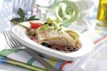 Thumbnail Victoria Perch with tomato sauce and olives