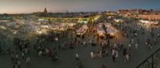 Thumbnail Djemaa el Fna, the famous medieval market place, Djemaa el Fna, Medina, Marrakesh, Morocco, North Africa