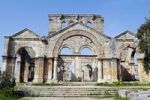 Thumbnail Church in the Simeon monastery Quala'at Samaan, Dead Cities, Syria, Asia