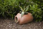 Thumbnail Amphora with a flower, garden decoration