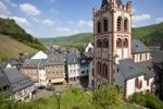 Thumbnail View of the St. Peter's Church in the old town of Bacharch, Unesco World Heritage Upper Middle Rhine Valley, Bacharach, Rhineland Palatinate, Germany, Europe
