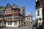 Thumbnail View of the old house in the old town of Bacharch, Unesco World Heritage Upper Middle Rhine Valley, Bacharach, Rhineland Palatinate, Germany, Europe