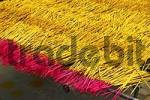 Thumbnail Drying of incense sticks, Can Tho, Vietnam