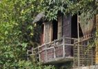 Thumbnail Traditional wooden house on the Mekong, Can Tho, Mekong Delta, Vietnam, Southeast Asia