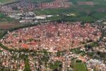 Thumbnail Aerial picture of Noerdlingen, Bavaria, Germany, Europe