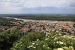 Thumbnail Hainburg an der Donau, view from the castle hill, Lower Austria, Austria, Europe