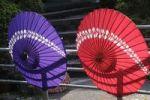 Thumbnail Japanese parasols, Ohara, Japan, Asia