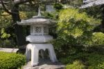 Thumbnail Winter stone lantern in a Japanese temple, Ohara, Japan, Asia