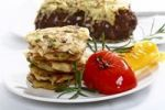 Thumbnail Potato roestis with roasted capsicum