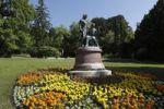 Thumbnail Lanner-Strauss monument in the spa garden, Baden near Vienna, Vienna Woods, Lower Austria, Austria, Europe
