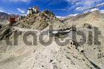 Thumbnail old mountain fortress of Leh, Ladakh, Jammu and Kashmir, India