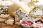 Thumbnail Christmas bakery, baking scene with shortcrust pastry, cookies and baking decoration material