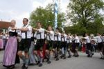 Thumbnail Dance around the maypole in Eurasburg, community Eurasburg, district of Bad Toelz Wolfratshausen, Bavaria, Germany, Europe