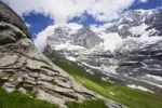 Thumbnail Eiger with Eismeer slope and glacier, Switzerland, Europe