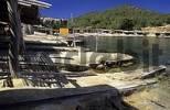Thumbnail typical boat garages at Cala sa Caleta