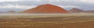 Thumbnail Sand dune in fog, near Sesriem, Namibia, Africa