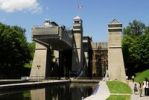 Thumbnail Historic ship canal lift, lift lock, in Peterborough, Canada