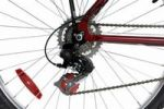 Thumbnail 21-speed mountain bicycle MTB rear wheel, close-up