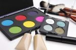 Thumbnail Colorful eyeshadow palettes, make-up brushes and other makeup accessories