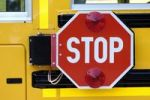 Thumbnail Stop sign on a school bus
