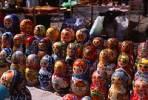 Thumbnail Matroschka, typical russian wood dolls, Kiev, Ukrainia