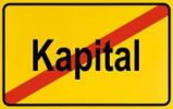 Thumbnail Sign city limits, symbolic image for the end of the dominance of capital