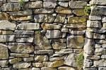 Thumbnail wall from natural stone