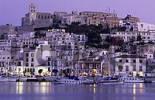 Thumbnail Dalt Vila, historic center of Ibiza or Eivissa in the evening light