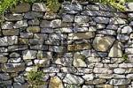 Thumbnail wall from natural stone