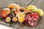 Thumbnail Fruit juice with exotic fruits, Mango, Passionfruit, Grenadilla, Papaya, Pomegranate