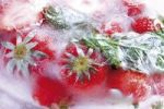 Thumbnail Frozen strawberries