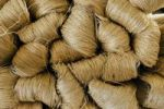 Thumbnail Bales of raw silk, Dalat capital, Central Highlands, Vietnam, Asia