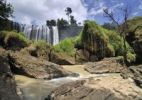 Thumbnail Elephant Falls, waterfall, rocky moss landscape, Central Highlands, Vietnam, Asia