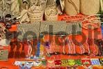 Thumbnail Punan souvenir stand in the settlement Batu Bungan Mulu National Park Sarawak Borneo Malaysia