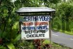 Thumbnail signboard sale spices and coffee, Nusa Dua, Bali, Indonesien
