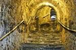 Thumbnail tunnel for pedestrians leading to the center of Dürnstein, area of Wachau, Lower Austria, Austria