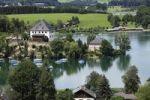 Thumbnail Mattsee with castle, Flachgau, Salzburger Land, Land Salzburg, Austria, Europe