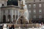 Thumbnail Residenzbrunnen fountain, Residenzplatz square, city of Salzburg, Austria, Europe
