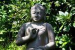 Thumbnail Old stone Buddha from Bali