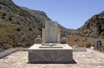 Thumbnail Monument to the dead of World War II, Psiloritis Mountains, Crete, Greece, Europe