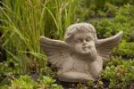 Thumbnail Garden decoration, putto at a pond