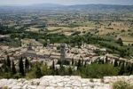 Thumbnail View over the roofs of the medieval town of Assisi, Italy, Europe