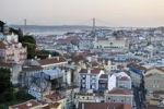 Thumbnail Overlooking the historic city centre of Lisbon and the Tagus River, Portugal, Europe