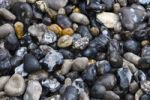 Thumbnail Black stones on the beach, Ault, Picardie, France, Europe