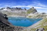"""Thumbnail The Wildsee lake at the Pizol massif above Bad Ragazin in the """"Heidi country"""" in the Swiss Alps, Switzerland, Europe"""