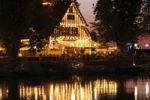 Thumbnail Tavern on the lake, Bregenz marina, Lake Constance, Vorarlberg, Austria, Europe